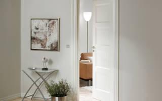 Из чего состоит филенчатая дверь?