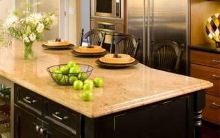 Как правильно выбрать столешницу для кухни?