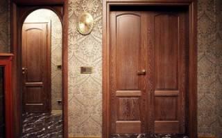 Как реставрировать шпонированную дверь?