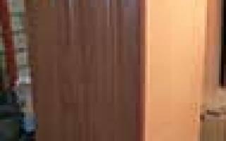 Как крепить фальш панель на кухонный шкаф?