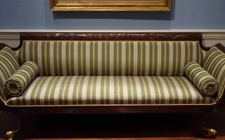 Как самому поменять обивку дивана?