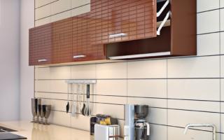 Замена дверок на кухонном гарнитуре из МДФ