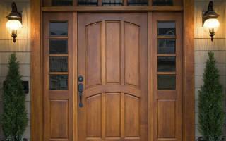 Как утеплить притвор деревянной двери?