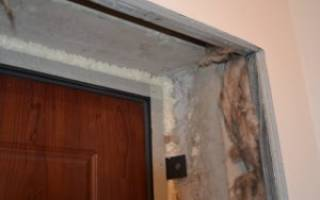 Чем заделать дверной проем после установки двери?