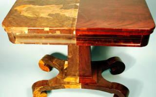 Каким лаком покрыть деревянную мебель?