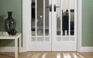 Как снять стекло с межкомнатной двери?