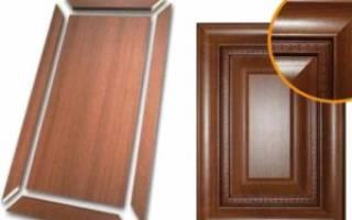 Изготовление рамочных фасадов из МДФ профиля