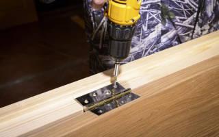 Как врезать скрытые петли в межкомнатную дверь?
