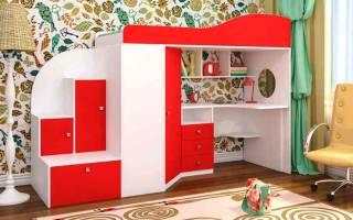Как правильно выбрать детскую мебель?