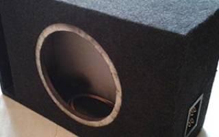Короб для сабвуфера из МДФ