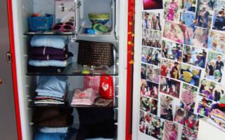 Как из старого холодильника сделать шкаф?