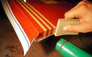 Пленка ПВХ как клеить на мебель?