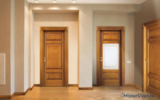 Как правильно приклеить уплотнитель на деревянную дверь?