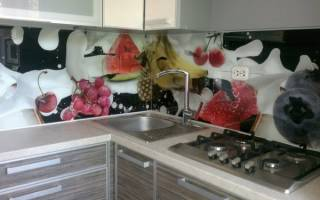 Как делают скинали для кухни?