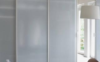 Как помыть матовые стекла на двери?