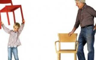 Как собрать стул для кухни?