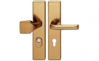 Как подобрать ручку для входной двери?