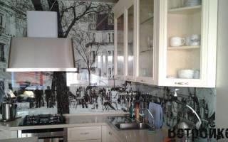 Как сделать стеклянный фартук для кухни?