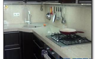 Как самому сделать столешницу для кухни?