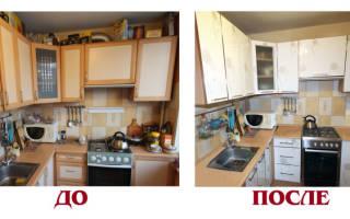 Можно ли покрасить кухонный гарнитур из МДФ?