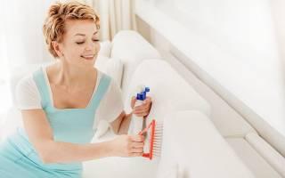 Как самому сделать химчистку дивана?