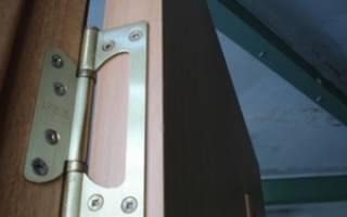 Как ставить накладные петли на двери?
