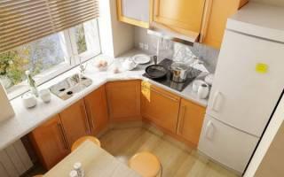 Как подобрать шторы для маленькой кухни?