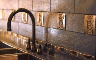 Кухонный экран из МДФ