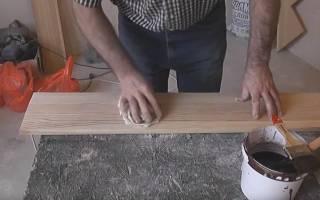Чем покрасить балясины из дерева?