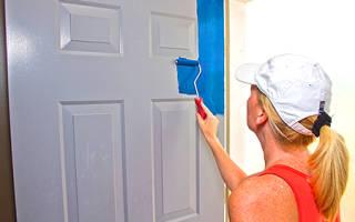Покраска дверей МДФ своими руками