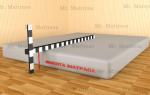 Как замерить матрас для кровати?