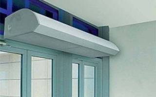 Как подобрать тепловую завесу на входную дверь?