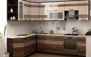 Какие бывают модули для кухни?