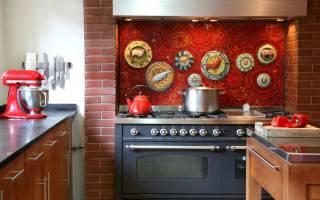 Как оформить фартук для кухни?