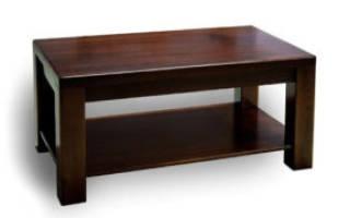 Как собрать стол из ДСП?