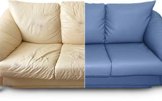 Как перелицевать диван?