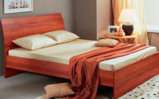 Как собирается двуспальная кровать?