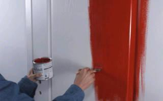 Чем лучше красить межкомнатные двери?