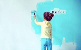 Какой краской красить детскую мебель?