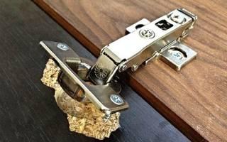 Как починить вырванную петлю из ДСП?