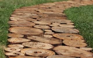 Как напилить кругляши из дерева?