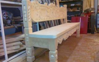 Как делать резную мебель?