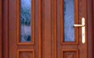 Блоки дверные МДФ филенчатые межкомнатные