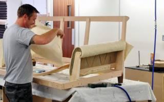 Как делается мягкая мебель?