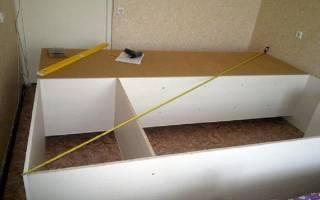 Задняя стенка шкафа из МДФ
