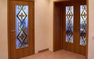 Как восстановить ламинированную дверь?
