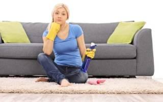 Как очистить сильно загрязненный диван?