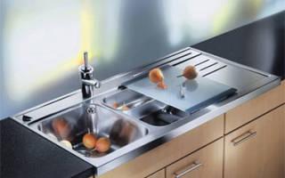 Что такое накладная мойка для кухни?