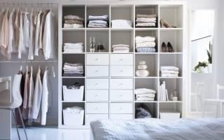 Как сделать больше места в шкафу?