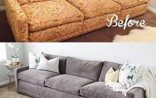 Как собрать старый диван?